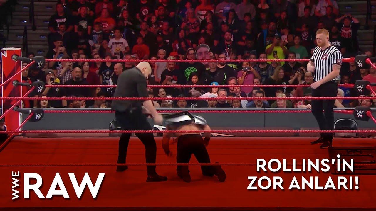 WWE Raw | Rollins'in Zor Anları! (Türkçe Anlatım)