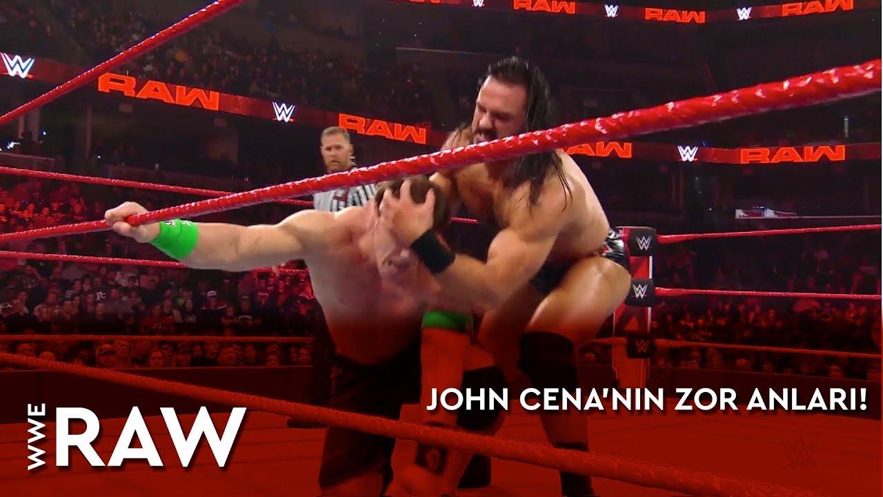 WWE Raw | John Cena'nın Zor Anları! (Türkçe Anlatım)