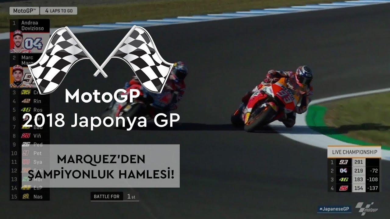 Marquez'den Şampiyonluk Hamlesi! (MotoGP 2018 - Japonya Grand Prix)