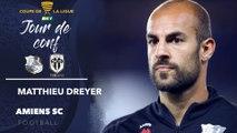 Conférence de presse d'avant Match Amiens SC - Angers SCO, Matthieu Dreyer