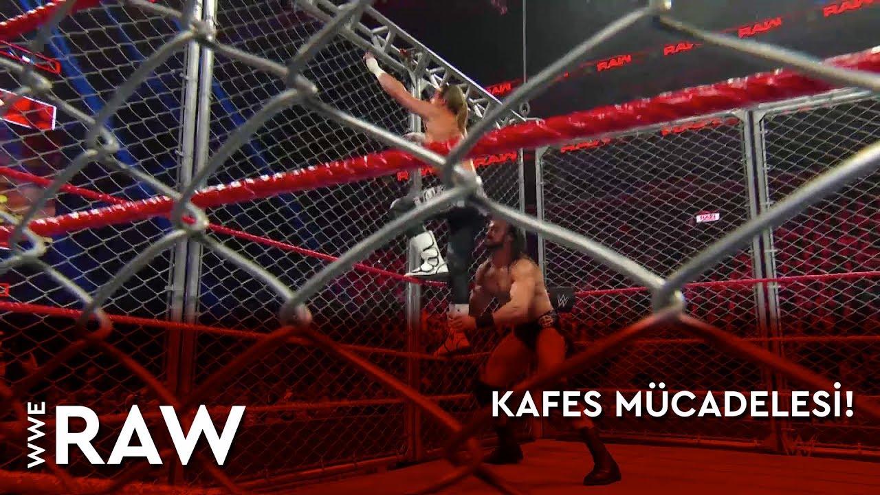 WWE Raw | Kafes Mücadelesi! (Türkçe Anlatım)