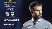 Conférence de presse d'avant Match ASC-Angers SCO, Luka Elsner
