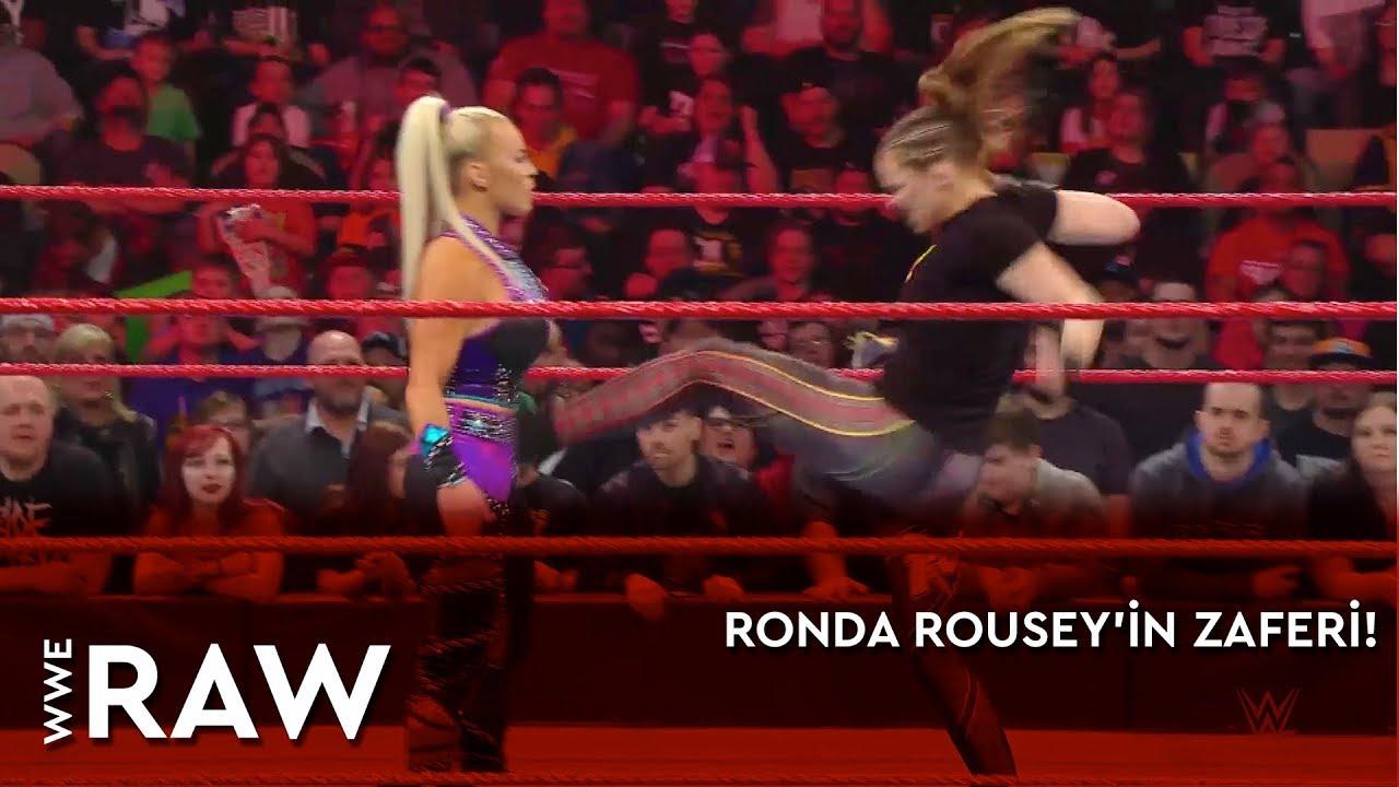 WWE Raw | Ronda Rousey'in Zaferi! (Türkçe Anlatım)