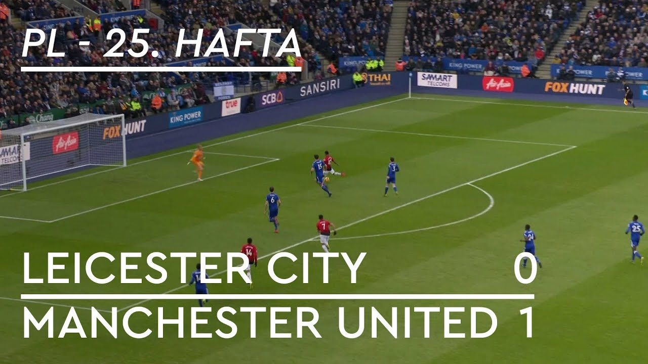 Leicester City - Manchester United (0-1) - Maç Özeti - Premier League 2018/19