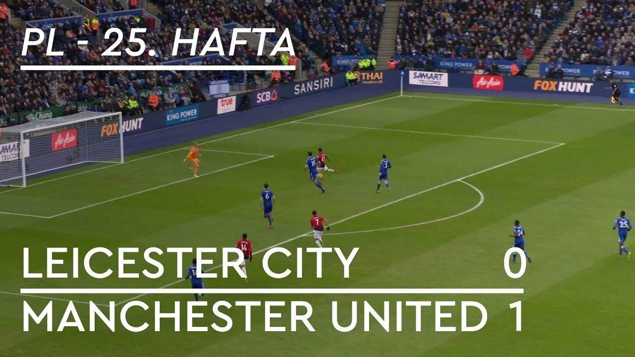 Leicester City - Manchester United (0-1) - Maç Özeti - Premier League 2018/19