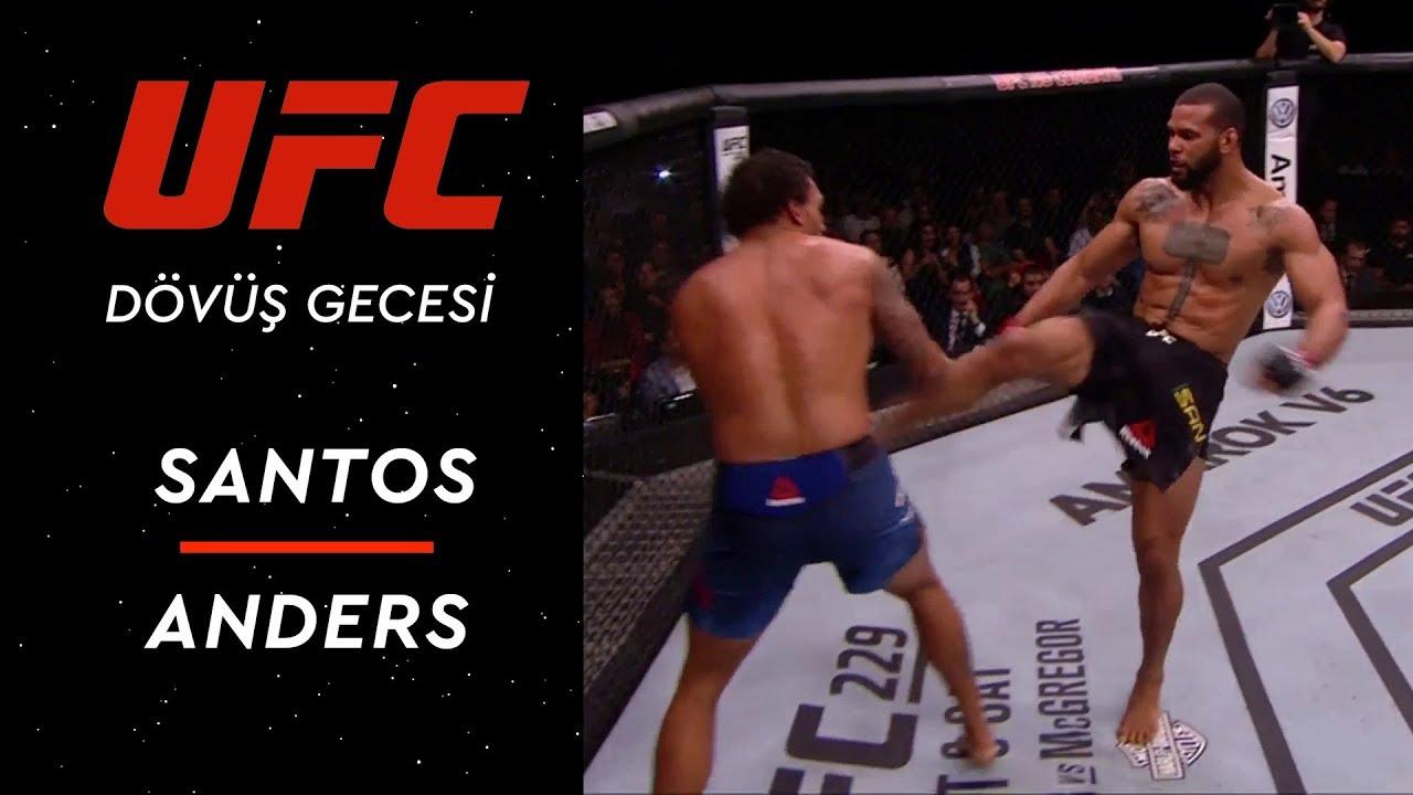 UFC Dövüş Gecesi |  Santos - Anders