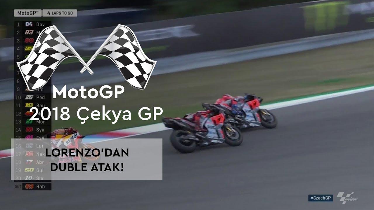 Lorenzo'dan Duble Atak (2018 MotoGP - Çek Cumhuriyeti Grand Prix)