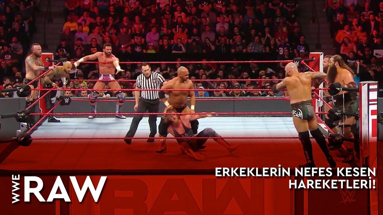 WWE Raw | Erkeklerin Nefes Kesen Hareketleri! (Türkçe Anlatım)