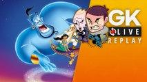 [GK Live Replay] Avec Disney Classic : Aladdin & Le Roi Lion, Puyo et Gautoz vivent un rêve bleu