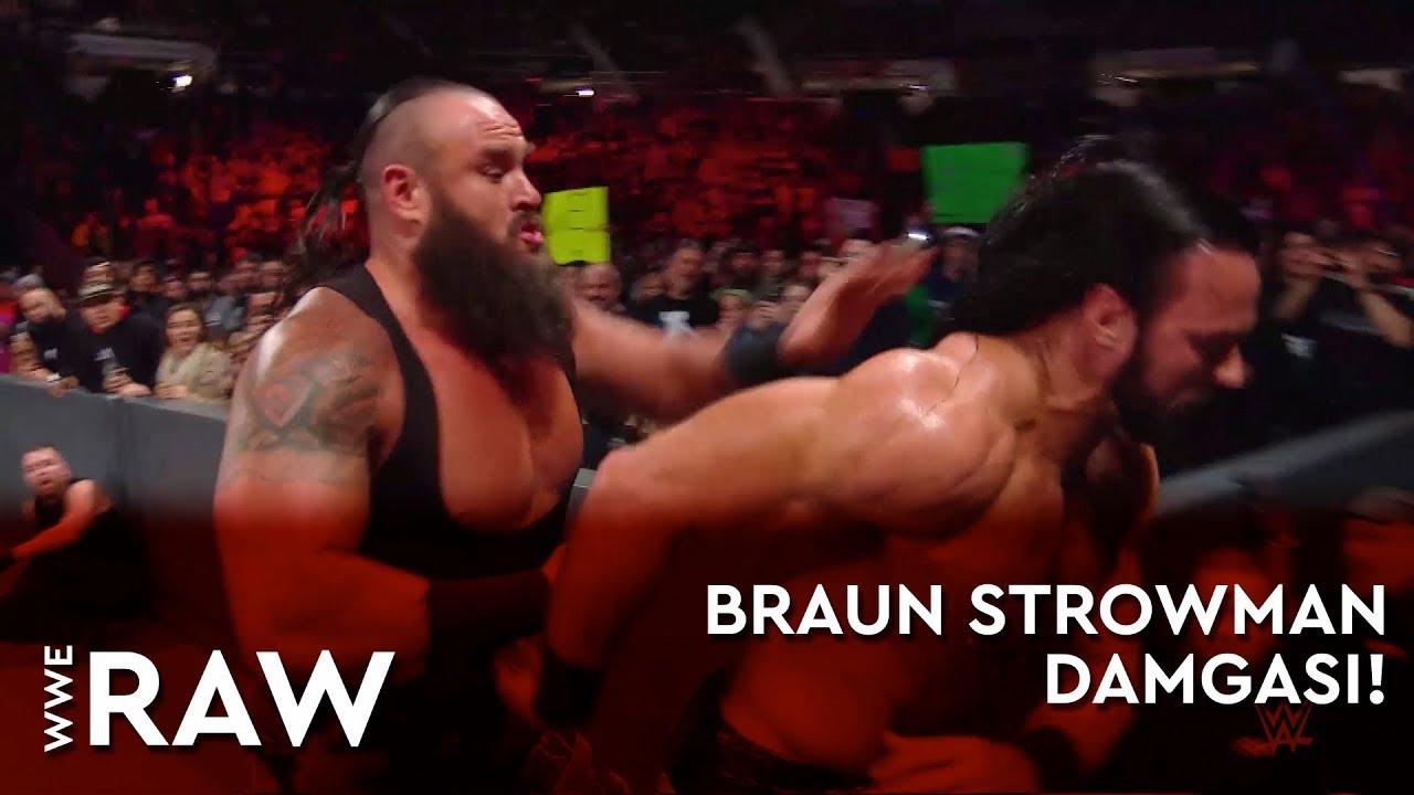 WWE Raw | Braun Strowman Damgası! (Türkçe Anlatım)