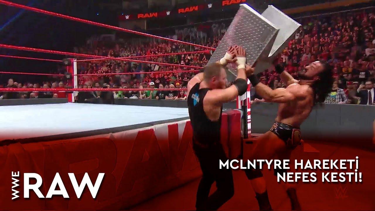 WWE Raw | Mclntyre Hareketi Nefes Kesti! (Türkçe Anlatım)