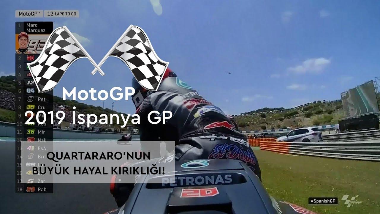 Quartararo'nun Büyük Hayal Kırıklığı! (MotoGP 2019 - İspanya Grand Prix)