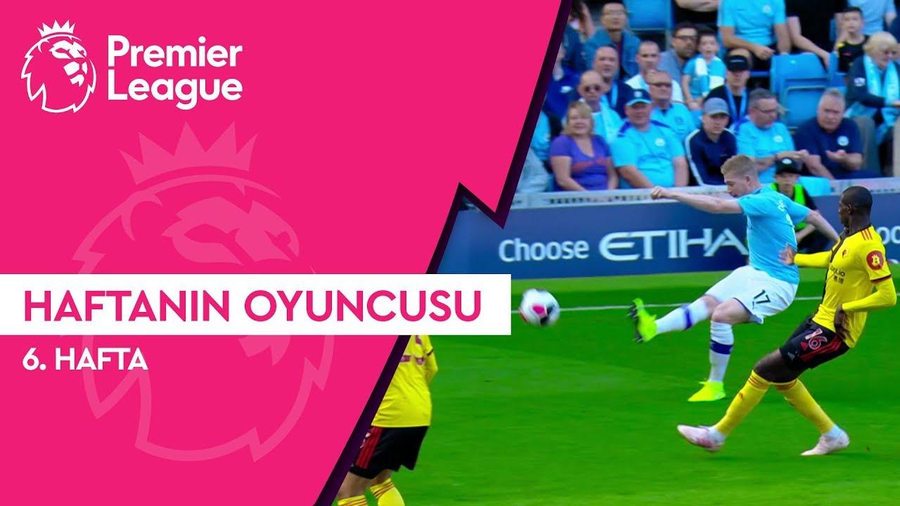 Premier League'de 6. Haftanın Oyuncusu | Kevin de Bruyne (2019/20)