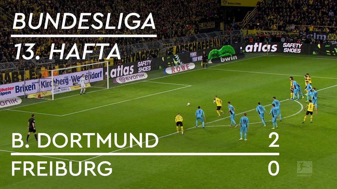 Borussia Dortmund - Freiburg  (2-0) - Maç Özeti - Bundesliga 2018/19