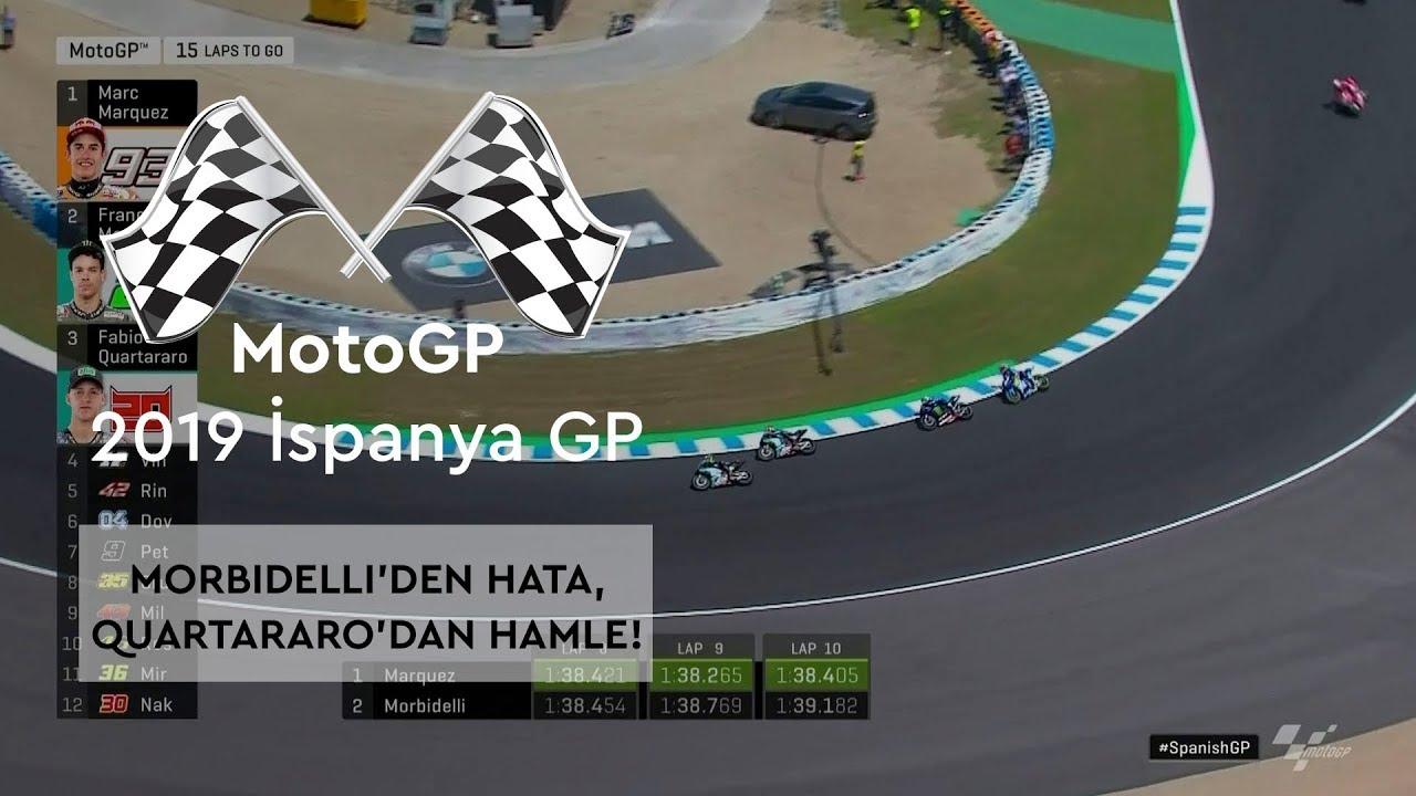 Morbidelli'den Hata, Quartararo'dan Hamle! (MotoGP 2019 - İspanya Grand Prix)