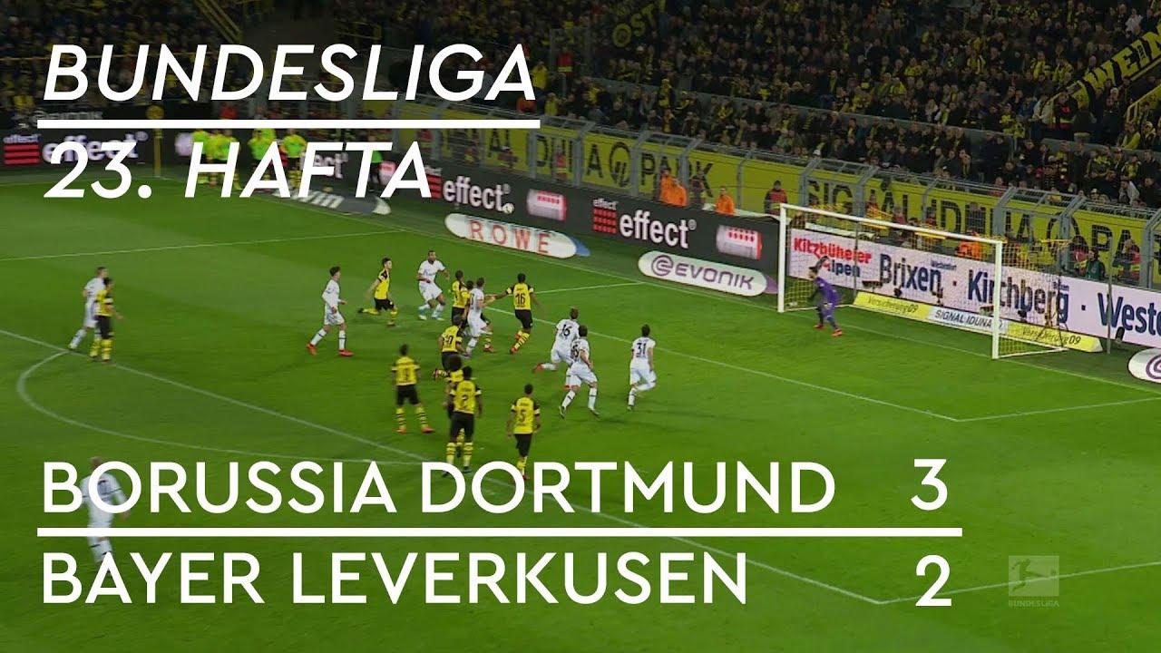 Borussia Dortmund - Bayer Leverkusen (3-2) - Maç Özeti - Bundesliga 2018/19