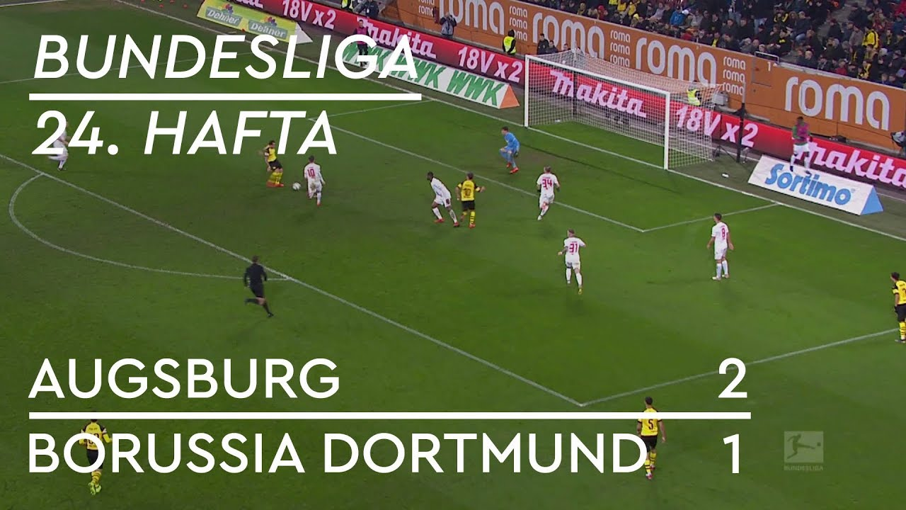 Augsburg - Borussia Dortmund (2-1) - Maç Özeti - Bundesliga 2018/19