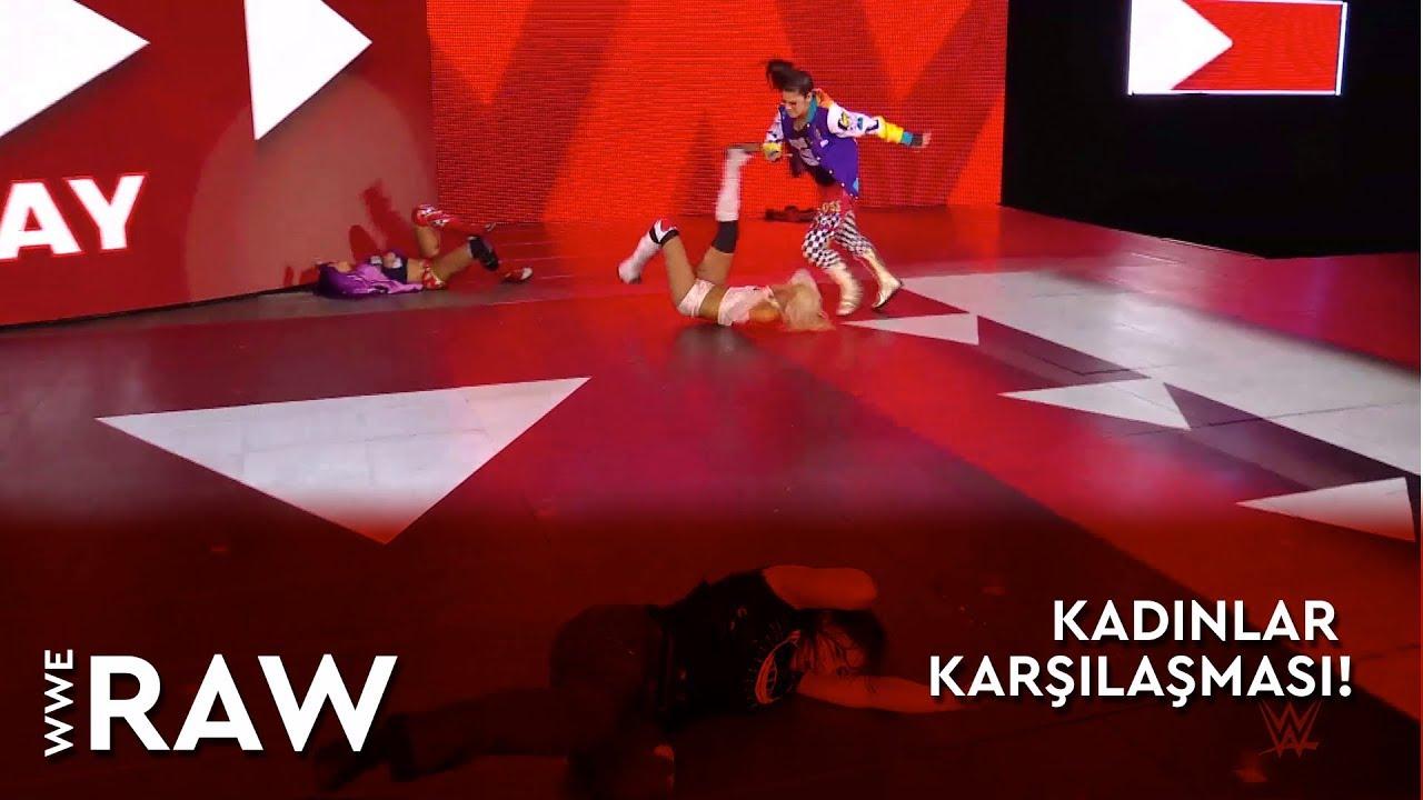 WWE Raw | Kadınlar Karşılaşması! (Türkçe Anlatım)