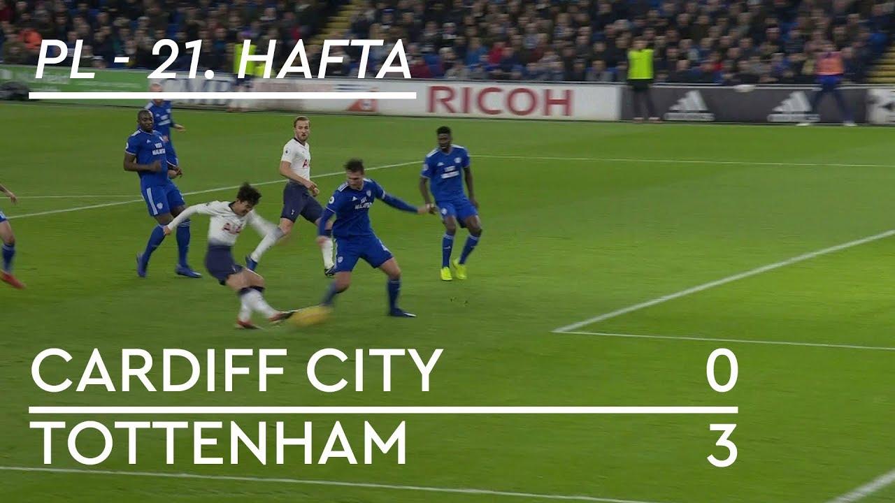 Cardiff City - Tottenham (0-3) - Maç Özeti - Premier League 2018/19