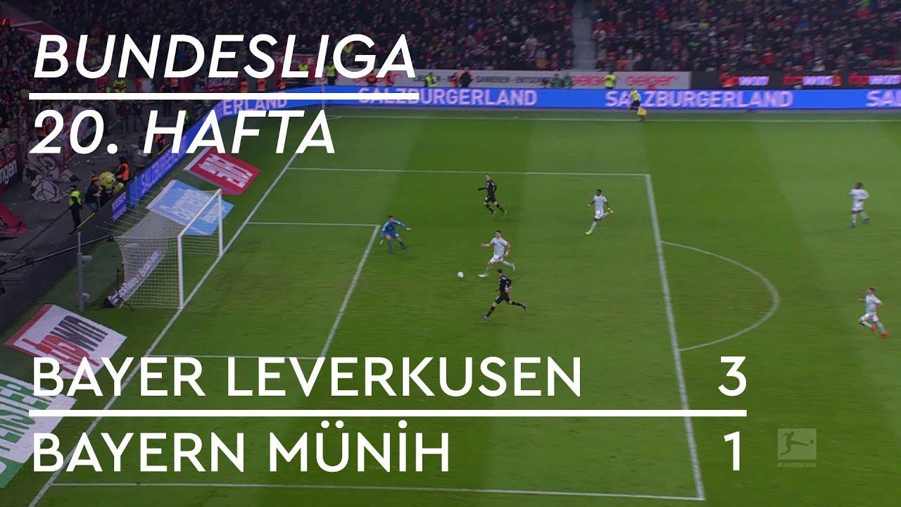 Bayer Leverkusen - Bayern Münih (3-1) - Maç Özeti - Bundesliga 2018/19