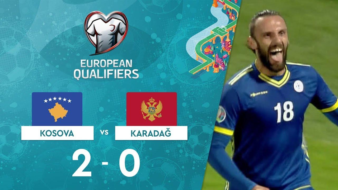 Kosova 2-0 Karadağ | EURO 2020 Elemeleri Maç Özeti - A Grubu