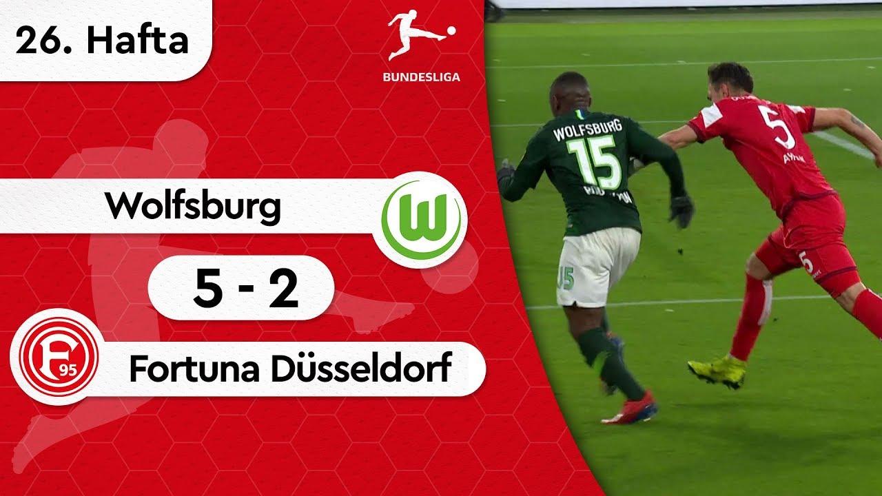 Wolfsburg - Fortuna Düsseldorf (5-2) - Maç Özeti - Bundesliga 2018/19