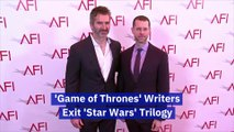 'Game of Thrones' Writers Exit 'Star Wars' Trilogy