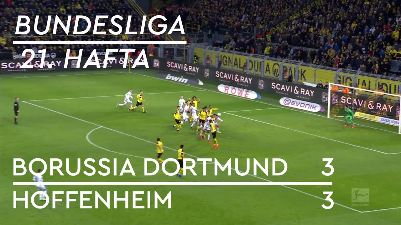 Borussia Dortmund  - Hoffenheim (3-3) - Maç Özeti - Bundesliga 2018/19