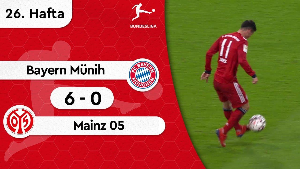 Bayern Münih - Mainz 05 (6-0) - Maç Özeti - Bundesliga 2018/19