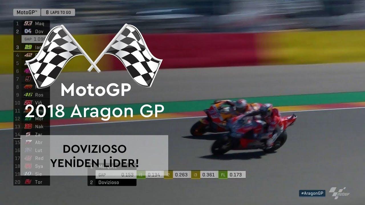 Dovizioso Yeniden Lider! (2018 MotoGP - Aragon Grand Prix)