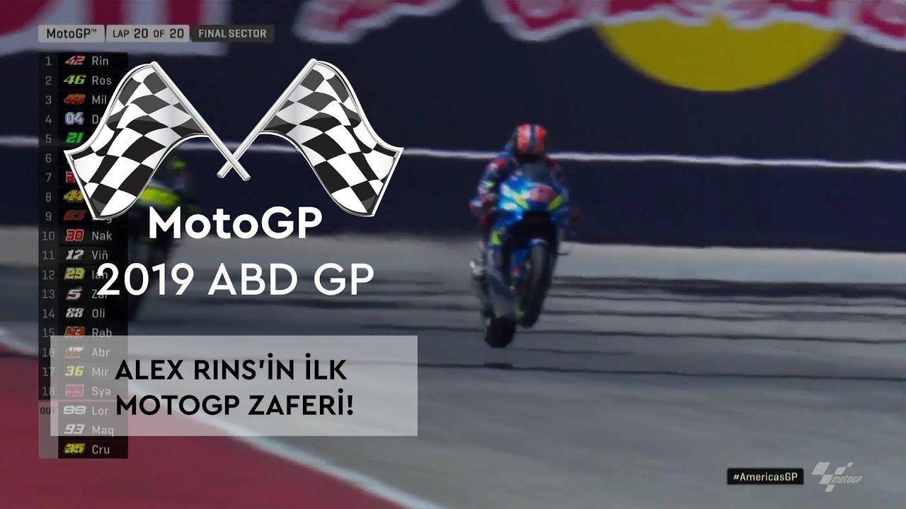 Alex Rins'in İlk Zaferi! (MotoGP 2019 - ABD Grand Prix)