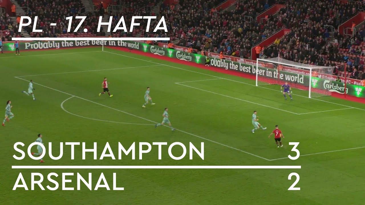 Southampton - Arsenal (3-2) - Maç Özeti - Premier League 2018/19