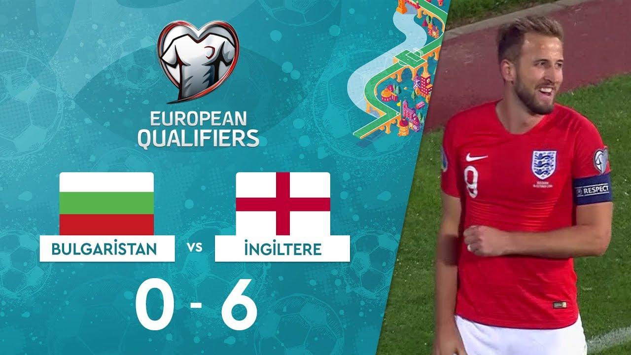 Bulgaristan 0-6 İngiltere | EURO 2020 Elemeleri Maç Özeti - A Grubu