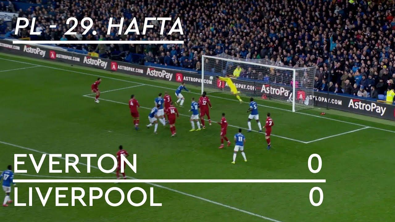 Everton - Liverpool (0-0) - Maç Özeti - Premier League 2018/19