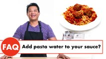 Cooking Experts Answer Your Spaghetti & Meatball Questions
