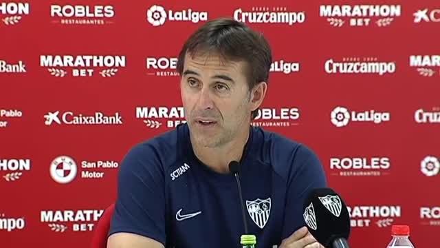 """Julen Lopetegui: """"Creo que el Valencia está en buenas manos"""""""