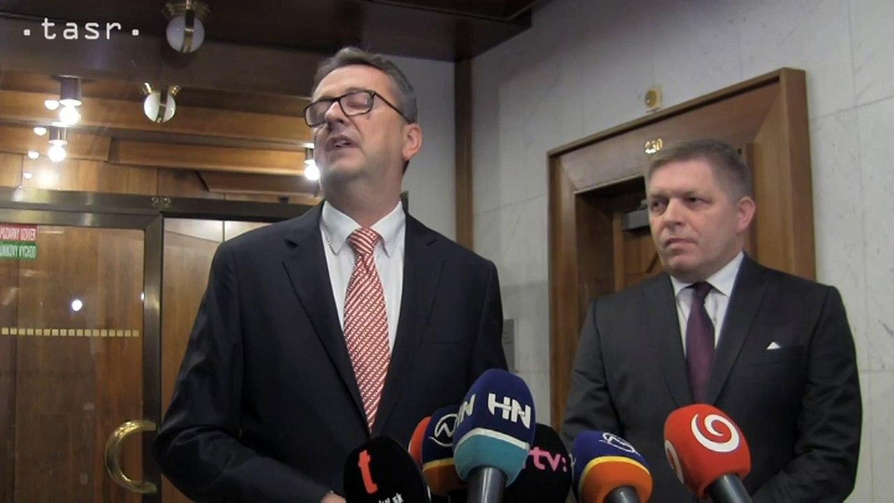 M.GLVÁČ: Či sa vzdám mandátu podpredsedu Národnej rady, oznámim v najbližších dňoch