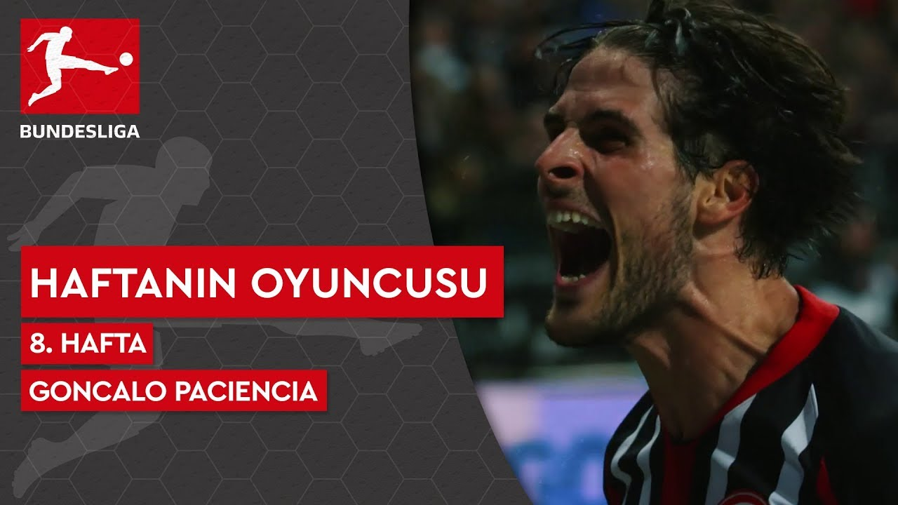 Bundesliga'da 8. Haftanın Oyuncusu | Goncalo Paciencia (2019/20)