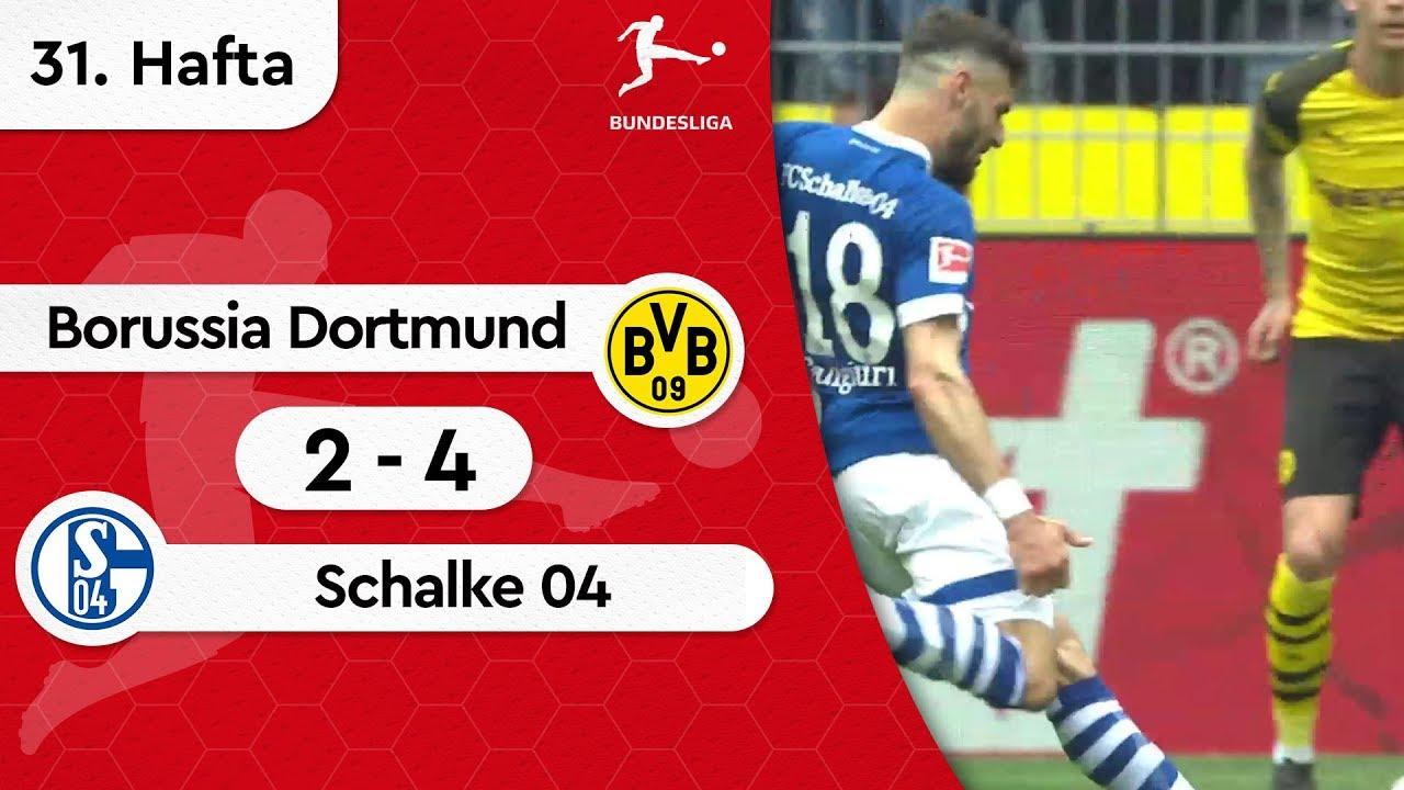 Borussia Dortmund - Schalke 04 (2-4) - Maç Özeti - Bundesliga 2018/19