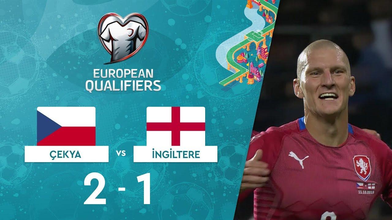 Çekya  2-1 İngiltere |  EURO 2020 Elemeleri Maç Özeti - A Grubu