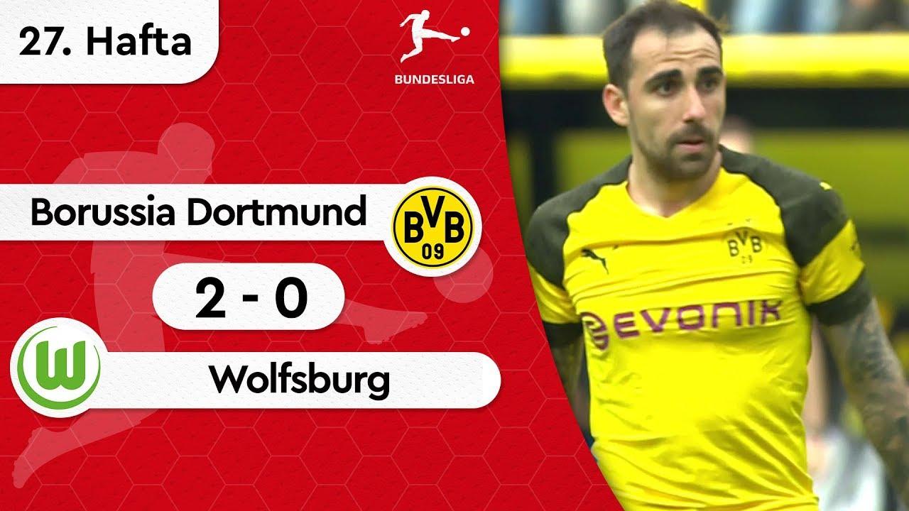 Borussia Dortmund - Wolfsburg (2-0) - Maç Özeti - Bundesliga 2018/19
