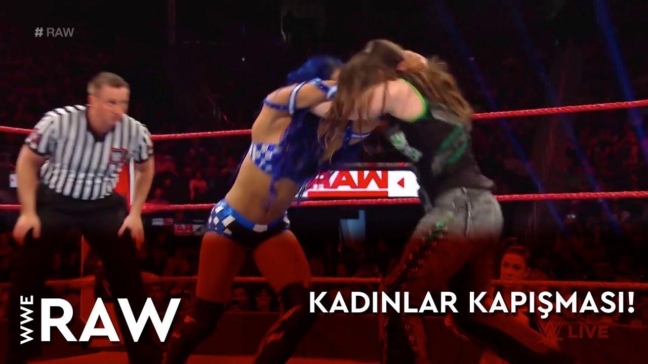 WWE Raw | Kadınlar Kapışması! (Türkçe Anlatım)