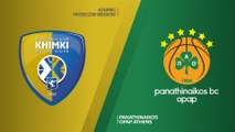 Khimki Moscow Region - Panathinaikos OPAP Athens Highlights   Turkish Airlines EuroLeague, RS Round 5
