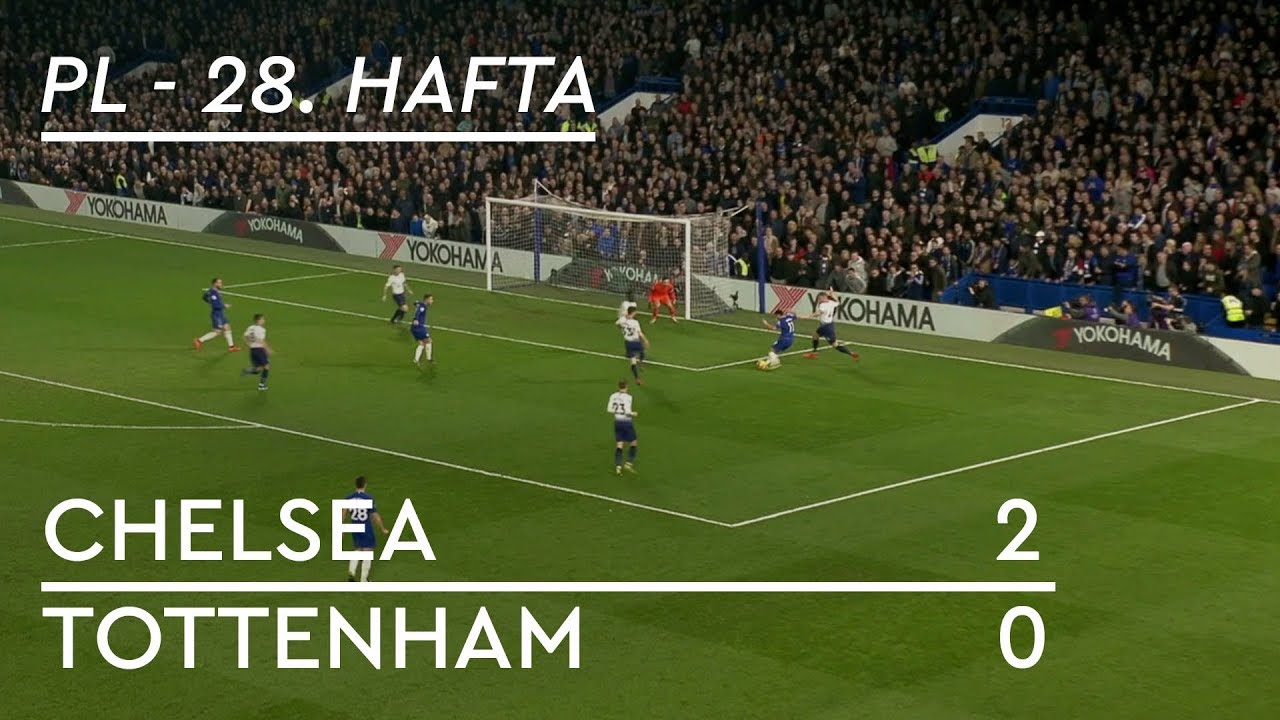 Chelsea - Tottenham (2-0) - Maç Özeti - Premier League 2018/19