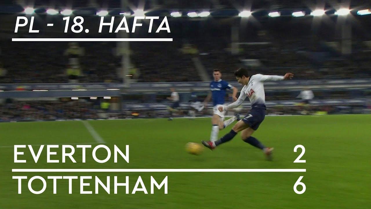 Everton - Tottenham (2-6) - Maç Özeti - Premier League 2018/19