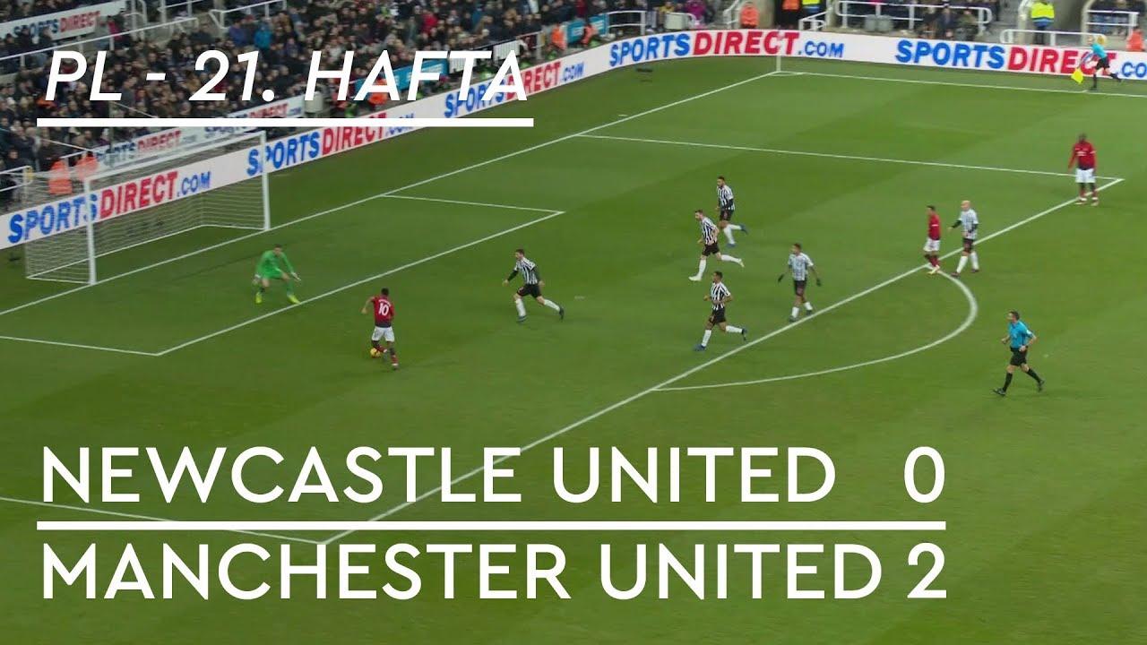 Newcastle United - Manchester United (0-2) - Maç Özeti - Premier League 2018/19