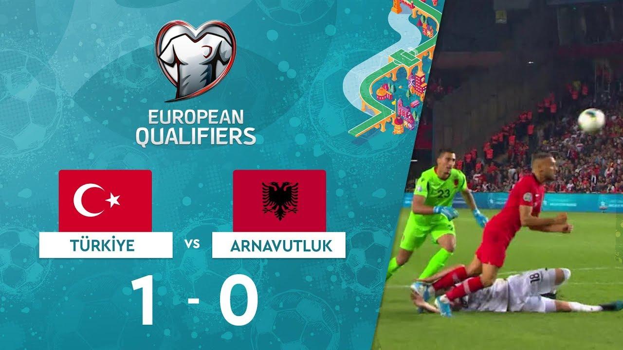 Türkiye 1-0 Arnavutluk |  EURO 2020 Elemeleri Maç Özeti - H Grubu