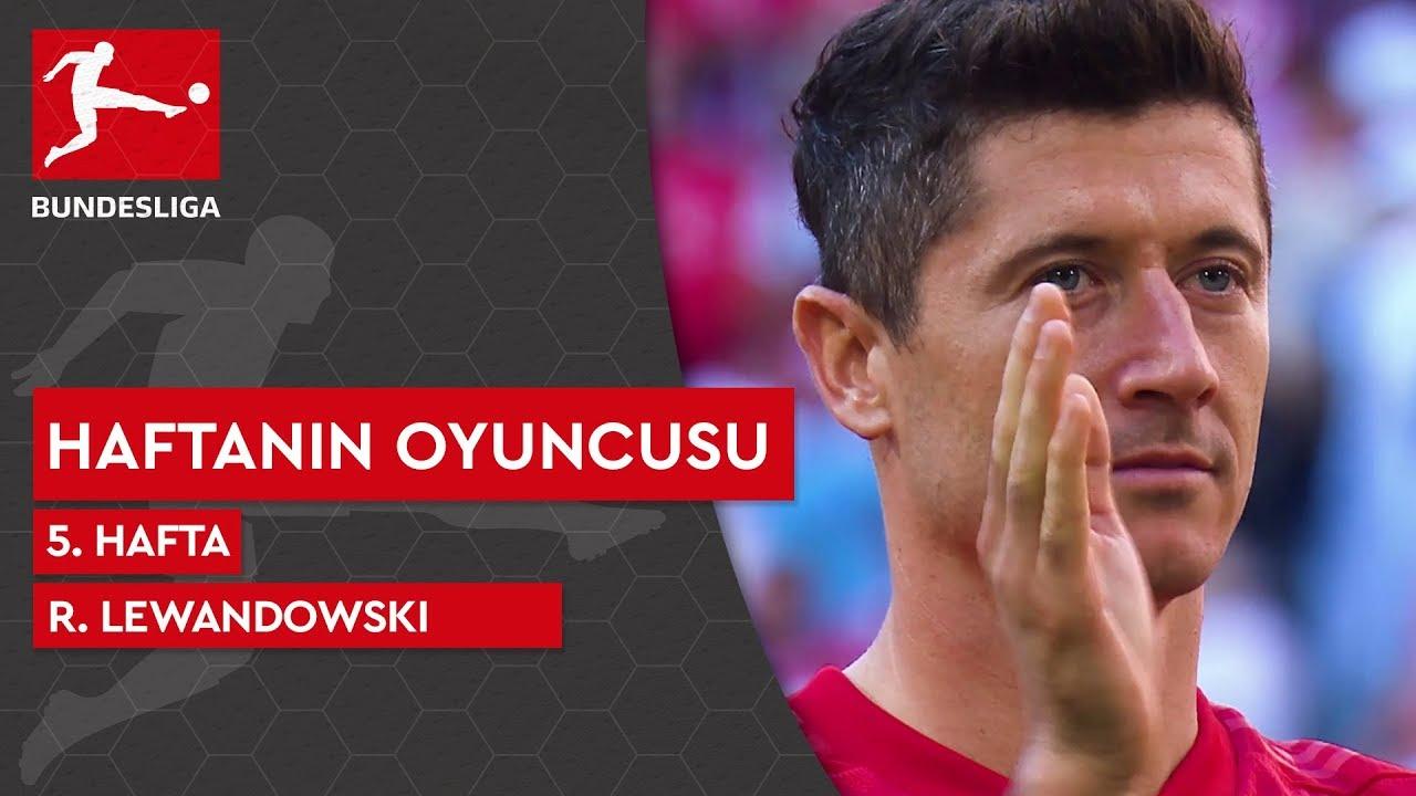 Bundesliga'da 5. Haftanın Oyuncusu | Robert Lewandowski (2019/20)