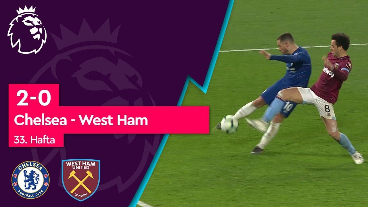 Chelsea - West Ham (2-0) - Maç Özeti - Premier League 2018/19