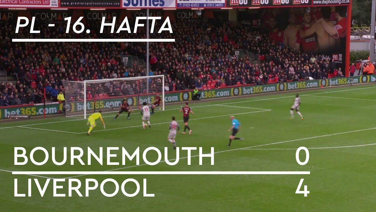 Bournemouth - Liverpool (0-4) - Maç Özeti - Premier League 2018/19